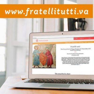 """Está online el nuevo sitio web dedicado a """"Fratelli tutti"""""""