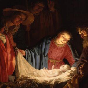 Jesús que nace puede estar en las lágrimas de un niño o en la soledad de un anciano