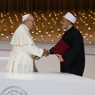 El Papa participa a la primera Jornada internacional de la Fraternidad Humana
