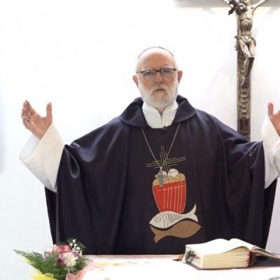 Cardenal Aós: «Jesús derrotó a Satanás, porque confió en Dios»