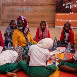 Chad: Dibujando un futuro mejor para las niñas refugiadas
