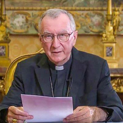 Cardenal Parolin: «La fraternidad es un mundo que sabe fijarse objetivos comunes»