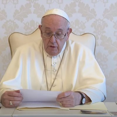 El Papa: «Peregrinos con Ignacio, un año para ir al mundo a ayudar a las almas»