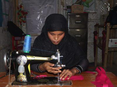Bangladesh: Las mujeres refugiadas rohinyá que simbolizan la esperanza durante el Covid-19