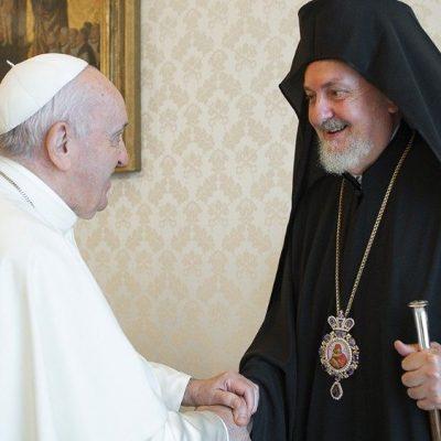 El Santo Padre a los ortodoxos: «Superemos rivalidades dañinas»