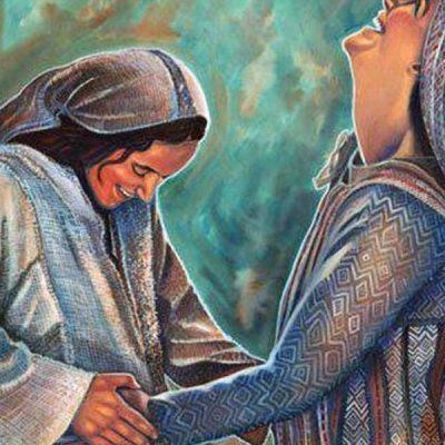 María, 'la madre de mi Señor', la creyente, la evangelizadora y la portadora de alegría
