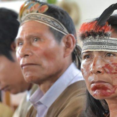 En el día de los Pueblos Indígenas, oración de los pueblos amazónicos