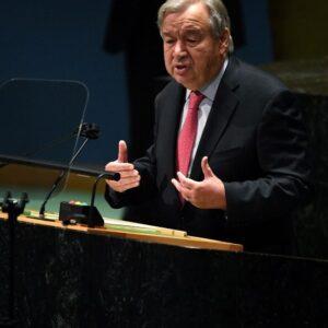 ONU, Guterres sobre el clima: «Estamos al borde del abismo, actuemos ya»