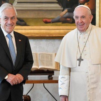 El Papa recibió en audiencia al Presidente Piñera